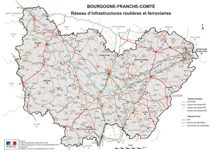 BourgogneFrancheComt Maps Pinterest France