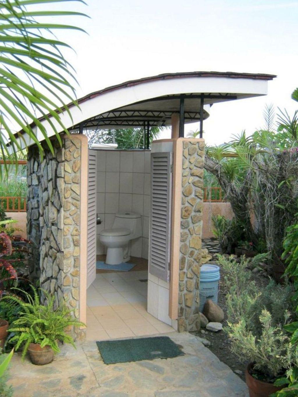 Bagno Esterno In Giardino 46 amazing outdoor bathroom design ideas (con immagini