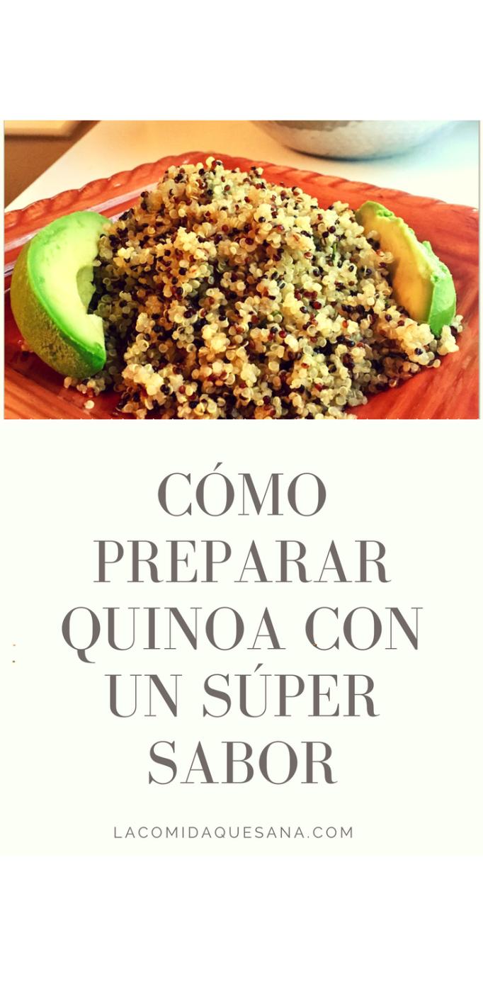 como capacitar quinoa para dieta