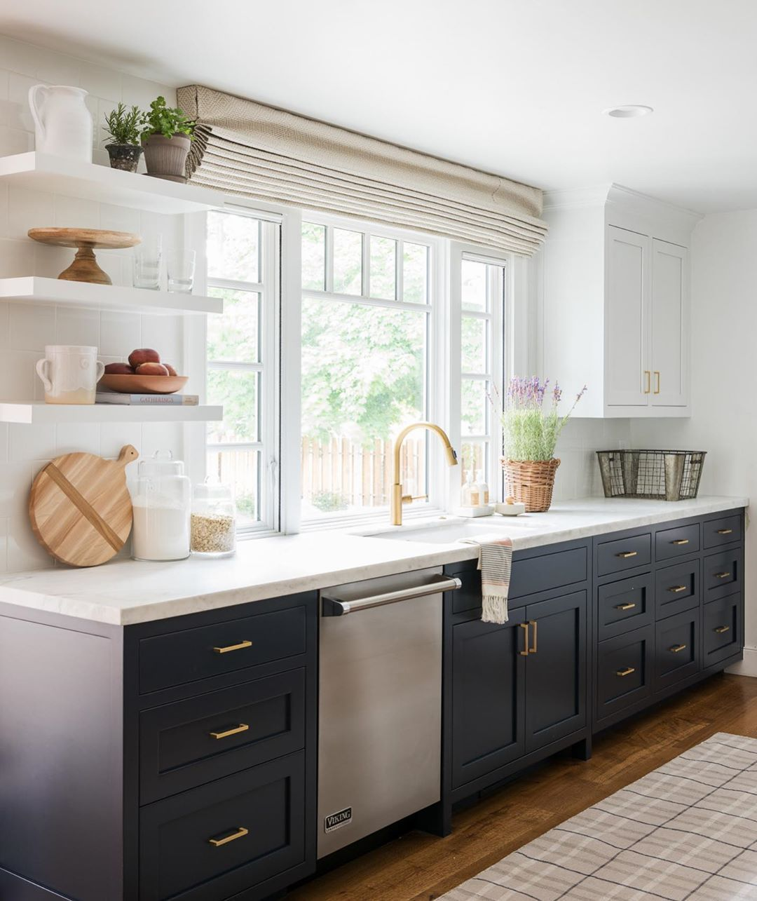 Mcgee Co On Instagram The Paint Color Is Hale Navy And Everything Here Ships Free In 2020 Hale Navy Farmhouse Kitchen Inspiration Kitchen Design