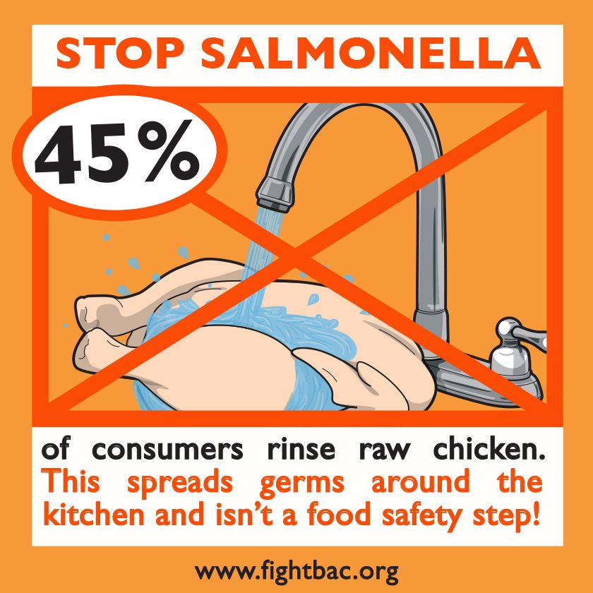 Dont Wash Your Chicken Nursing Tips Food Safety Food