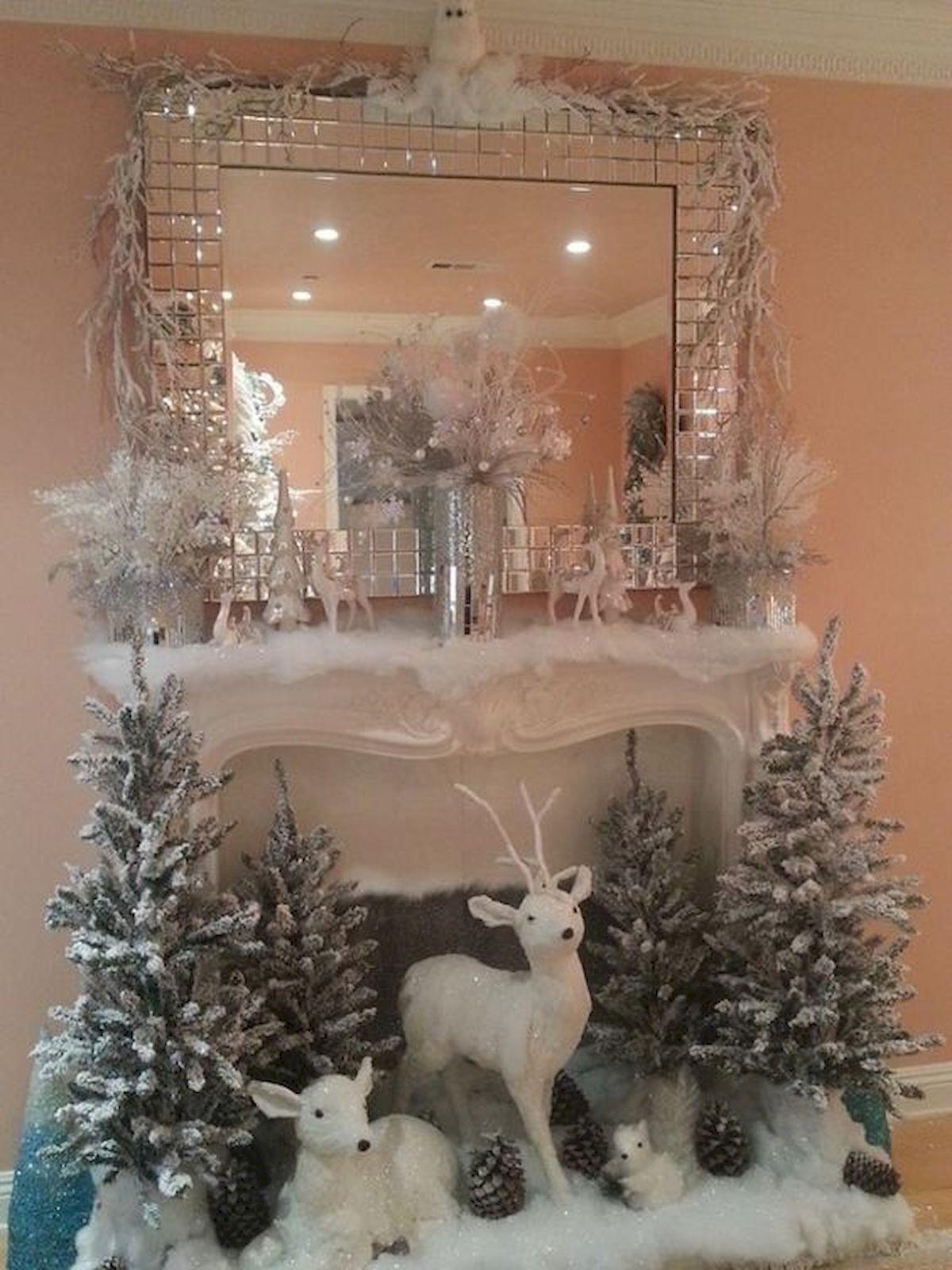 elegant christmas mantle decor ideas christmas pinterest