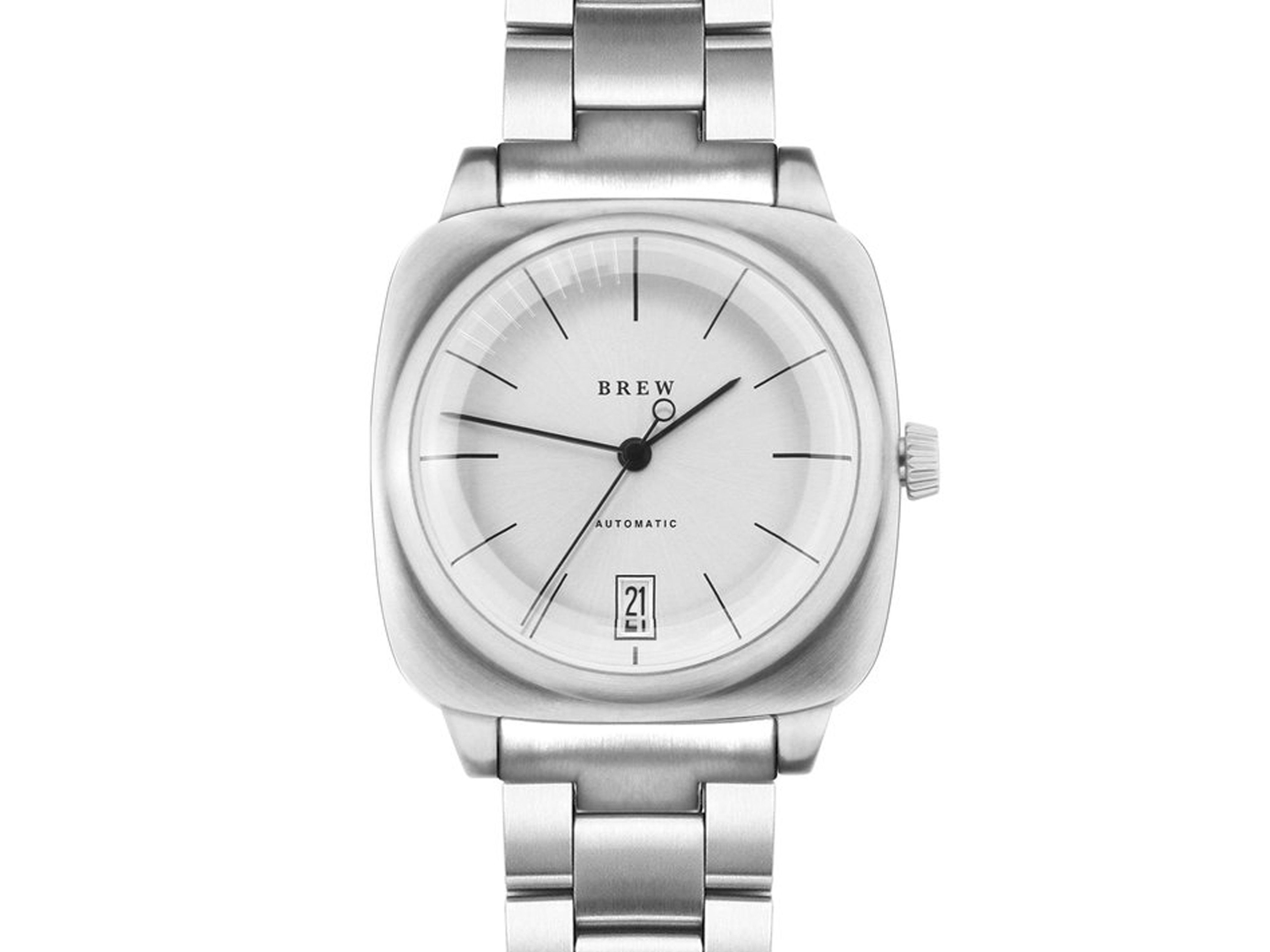HP-1 Automatic Watch Steel
