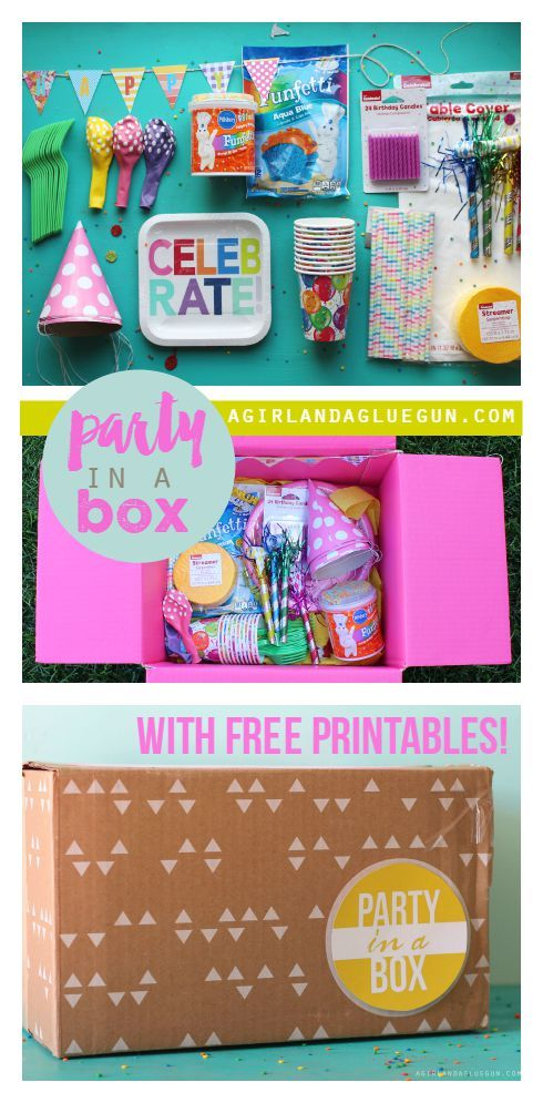 Party in a box | DIY Ideas | Pinterest | Party in a box, Party and on birthday party box, party in a cube, party favors product, gift box, party invitations, gender reveal balloon box, roses delivered in box, pizza box, family gets rid of box, tea party box, girl locked in box, picking up a box, burn box, party in a sandbox, candy box, party in a beach, shit box, paper box, bachelorette party box, party in a tank,