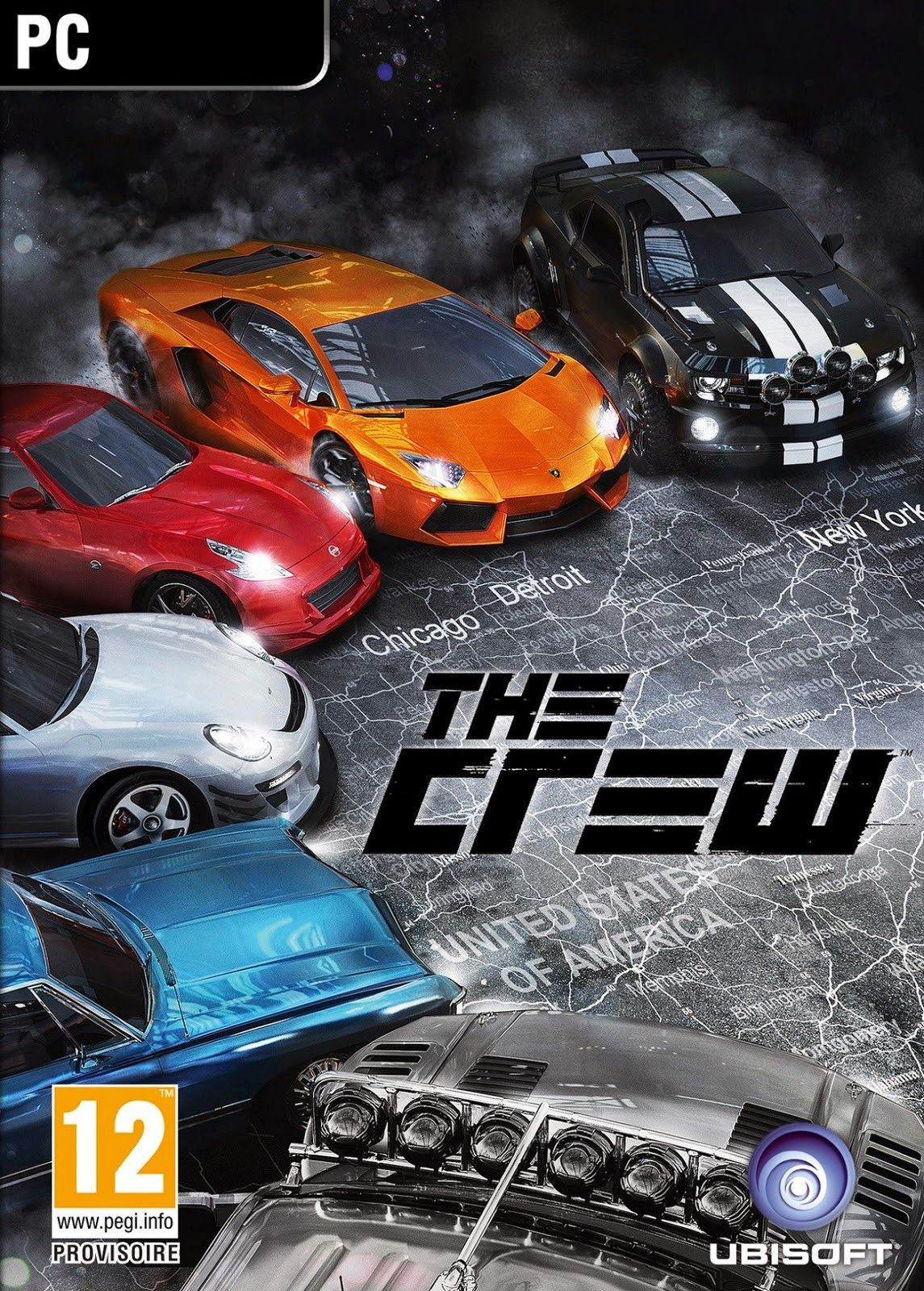 The Crew Windows PC Game Download Uplay CD-Key Global | Products