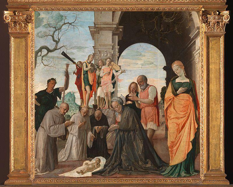 Bambini dipinti ~ Bramantino adorazione del bambino ladorazione del bambino è un