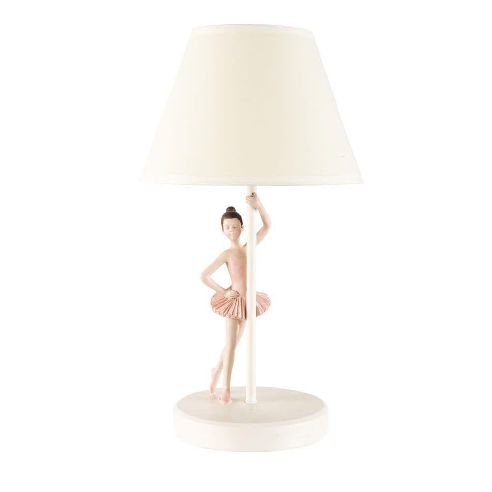 Ballerina Lamp Met Witte Lampenkap Danseuse Maisons Du Monde Lampenkap Ballerina Slaapkamer Bedlamp