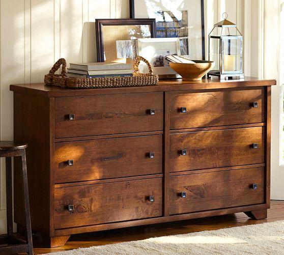 Sumatra Extra-Wide Dresser | Pottery Barn | colorado crossing ...