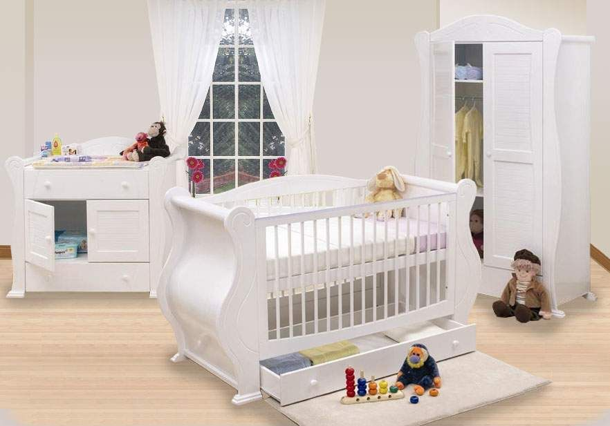 The White Baby Nursery Furniture Sets Up There Is Used Allow Decoration Of Your Home