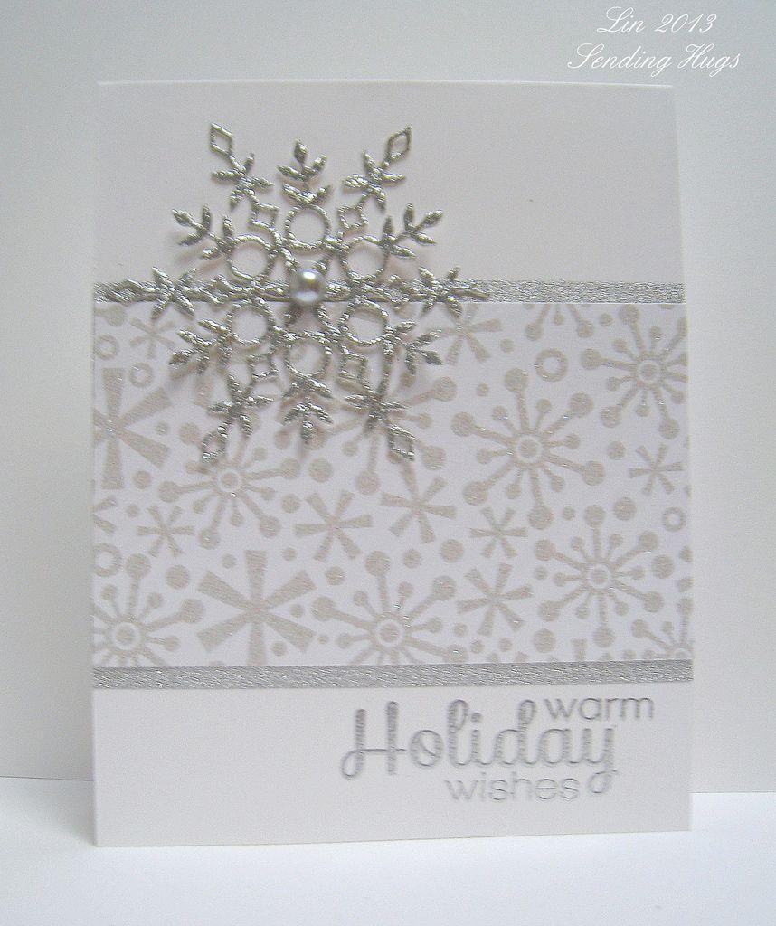 sss december card kit  christmas cards handmade