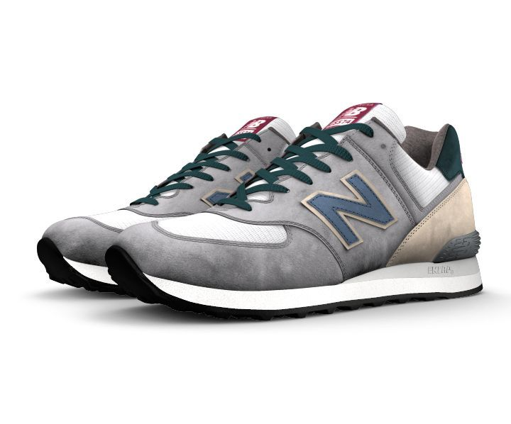 competitive price 765e5 86fe7 Today you can design a NB1 574 that s a one-of-a-kind look to match your  personal style. The 574 silhouette is the epitome of classic New Balance  design ...
