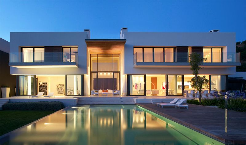 The strategy of this villas design was to create a living space