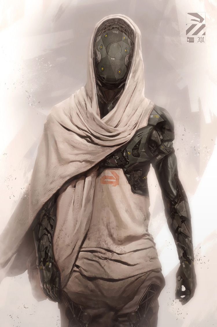 Striking Cyborg Art — GeekTyrant