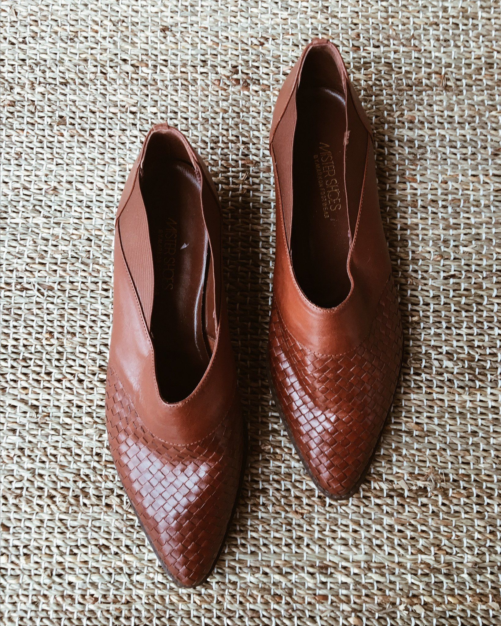 Vintage Woven Loafers - Size 7.5