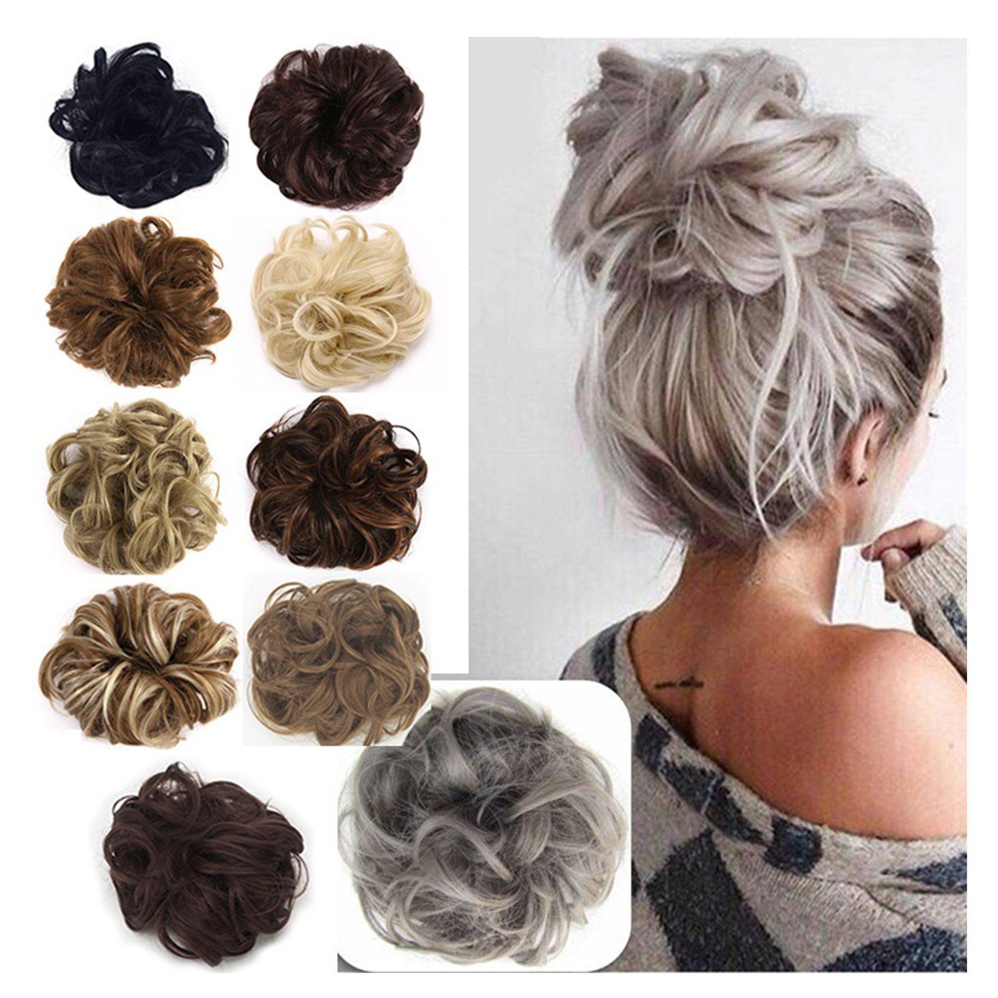 Florata Messy Hair Bun Chignon Updo Clip In Extension Walmart Com In 2020 Messy Bun Hairstyles Chignon Hair Messy Hairstyles