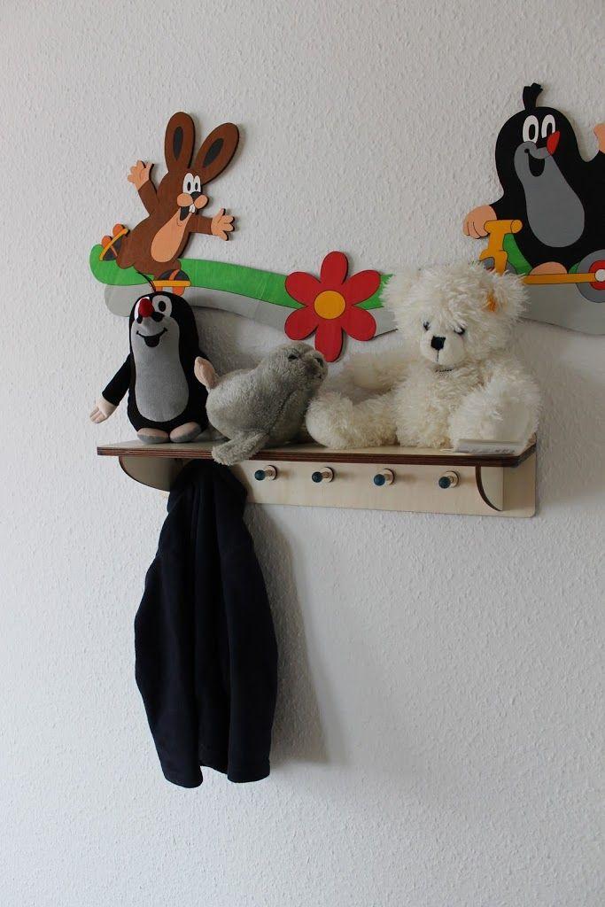 Der kleine Maulwurf Garderobe im Test bei Lavendelblog - Niedliche ...