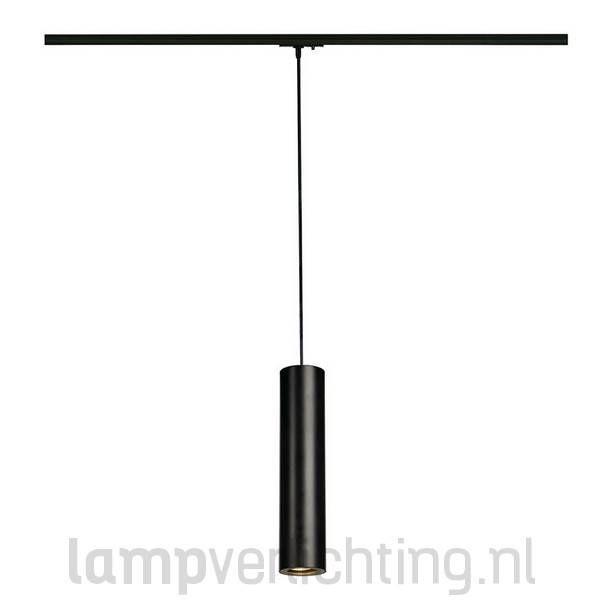1-Fase Railverlichting Hanglamp Koker | woonkamer lampen | Pinterest