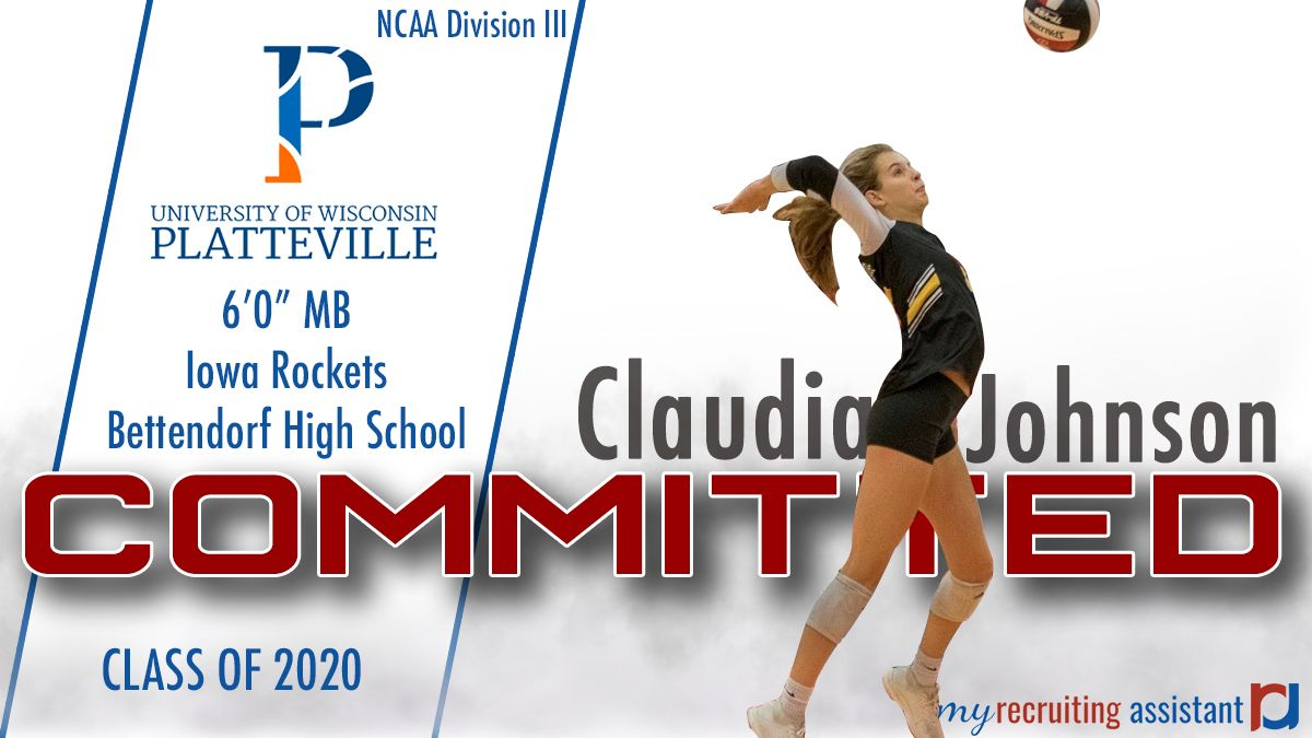Class Of 2020 Mb Claudia Johnson Heading To The University Of Wisconsin Platteville University Of Wisconsin Recruitment Class Of 2020