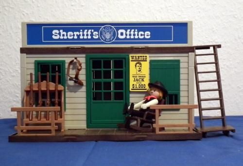 Playmobil Sheriff S Office