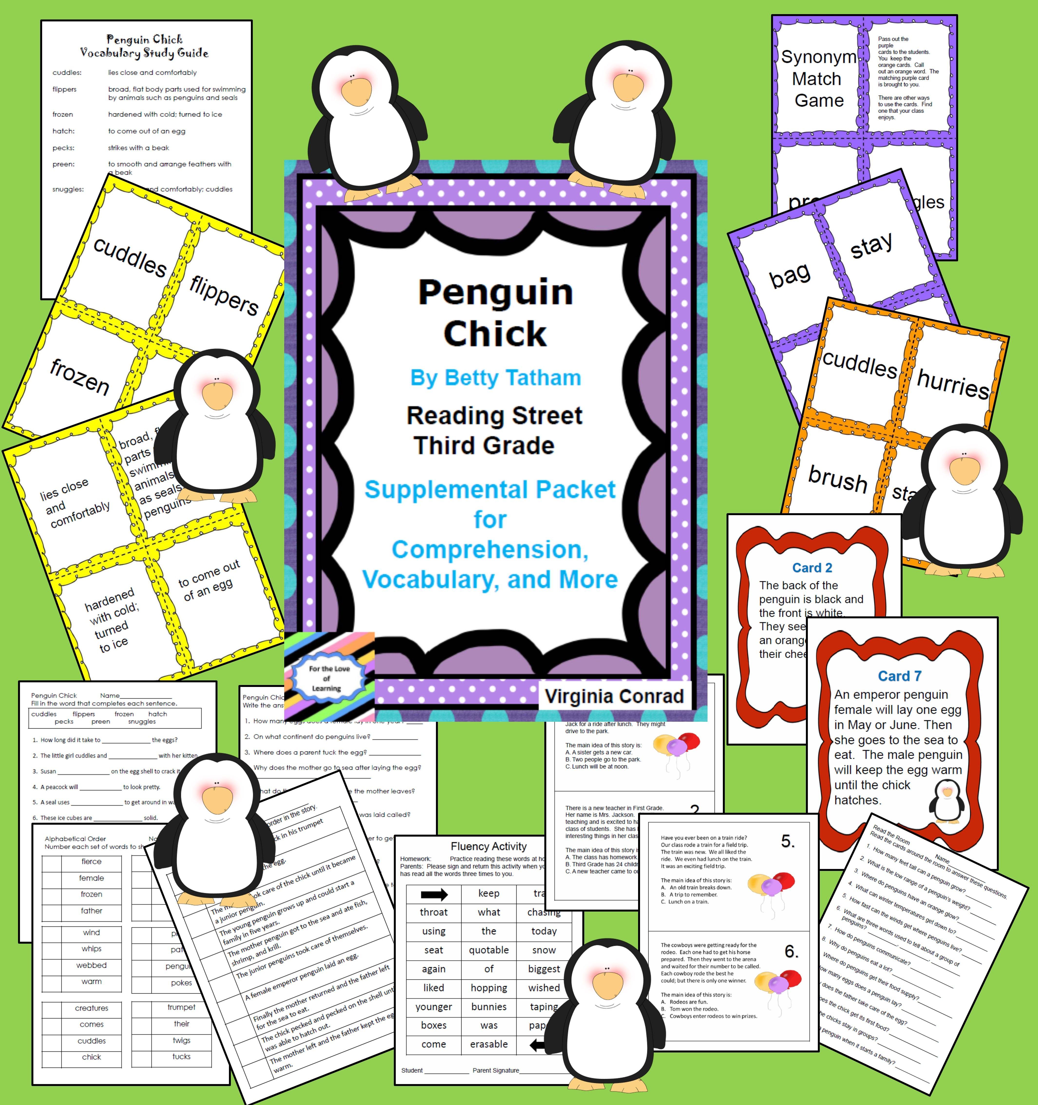 Penguin Chick Reading Street Supplemental Packet