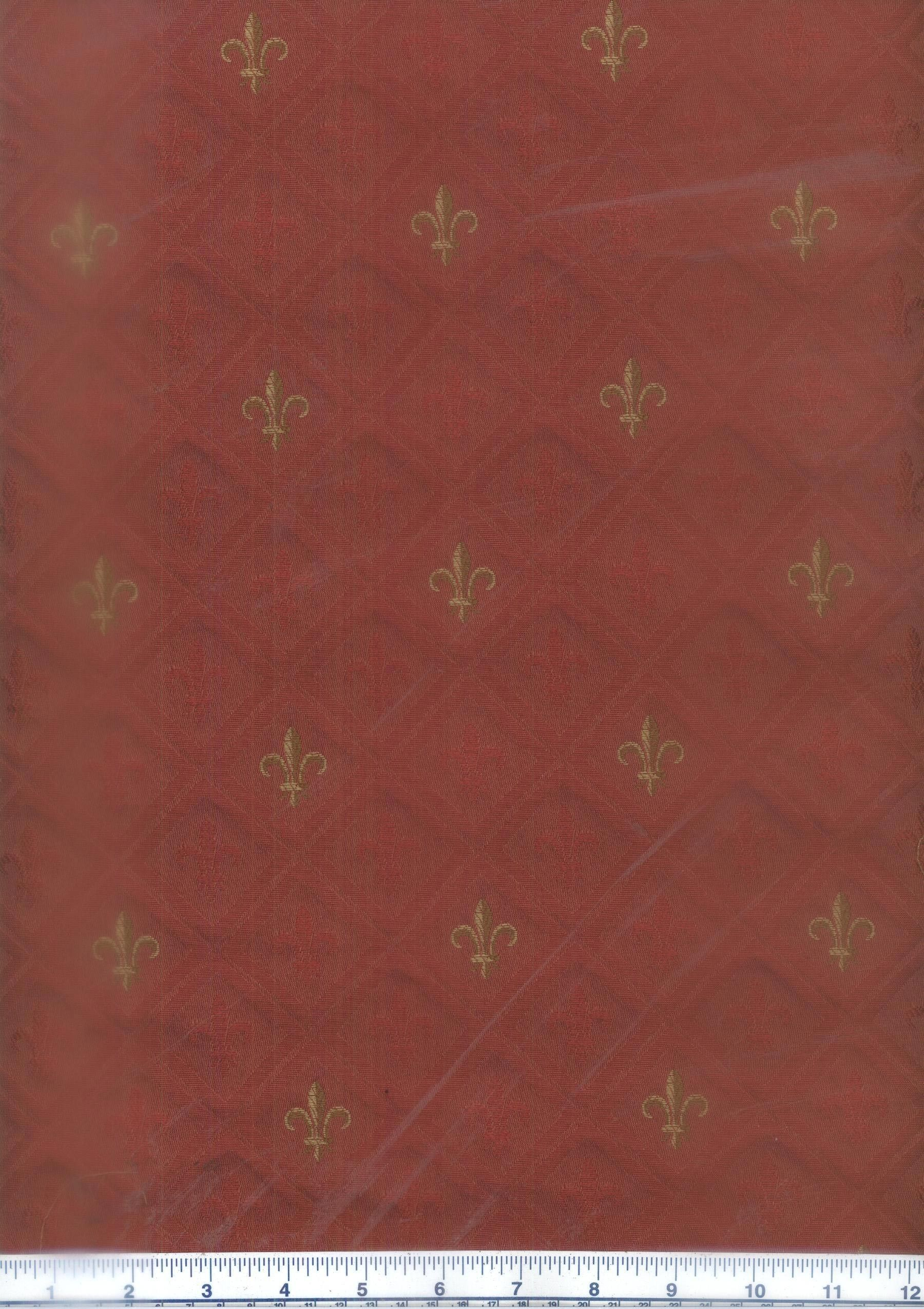 Fleur Red French country, Slipcovers, Red