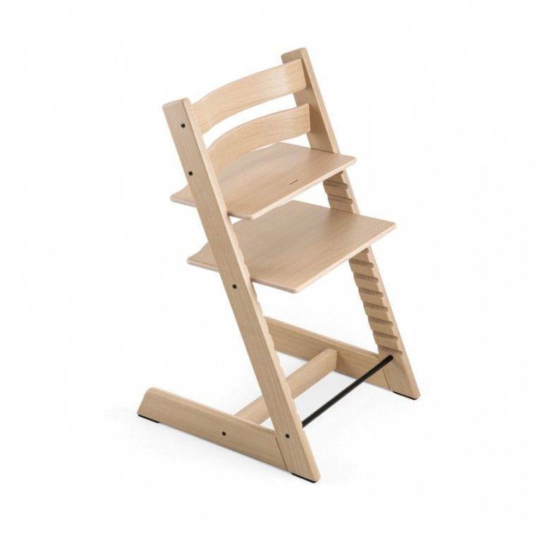 Awe Inspiring Stokke Tripp Trapp Oak White Stokkehighchair Egg Chair Andrewgaddart Wooden Chair Designs For Living Room Andrewgaddartcom
