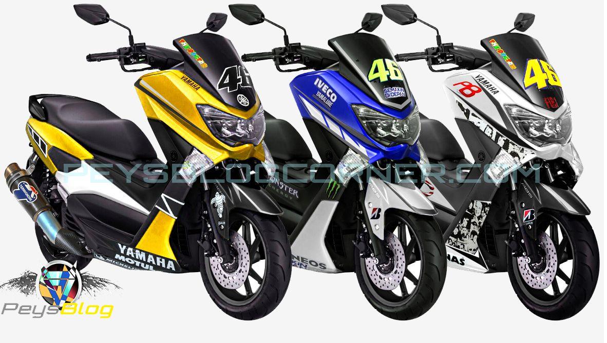 contoh Variasi Warna Motor Yamaha