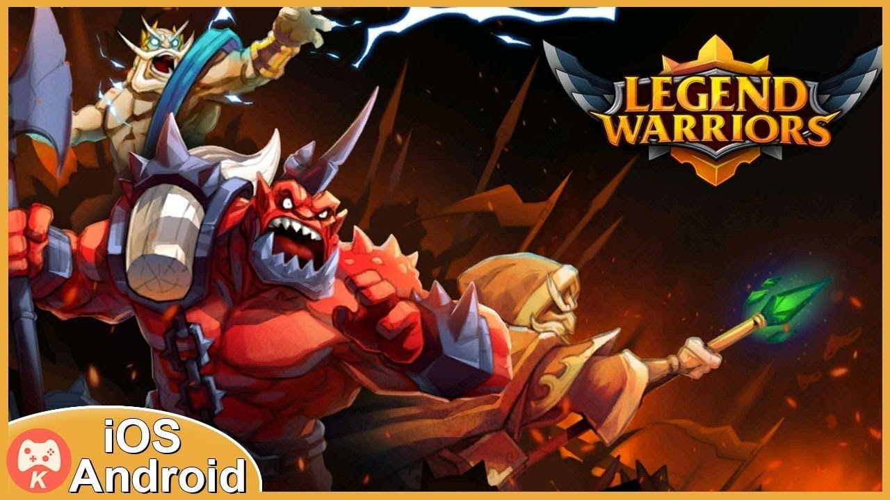 Legend Heroes Epic Battle Gameplay iOS Android Games The