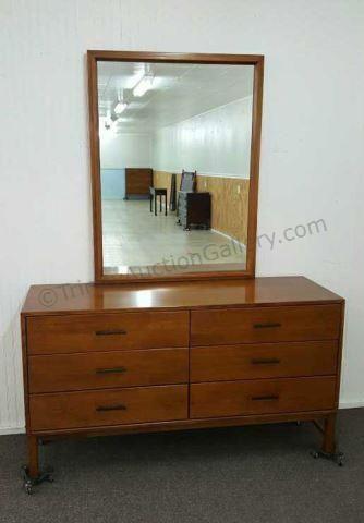 Best Mid Century Modern Conant Ball Dresser And Mirror Estate 400 x 300