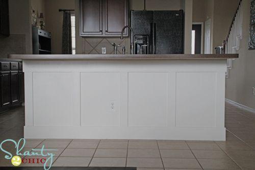 diy board and batten kitchen island diy board and batten kitchen island   batten drywall and bar  rh   pinterest com