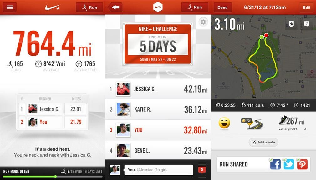 a9c72a8d4  LaunchedNow   Nike+  Running  iOS app becomes  social  Introduces  group   challenges and  chat feature