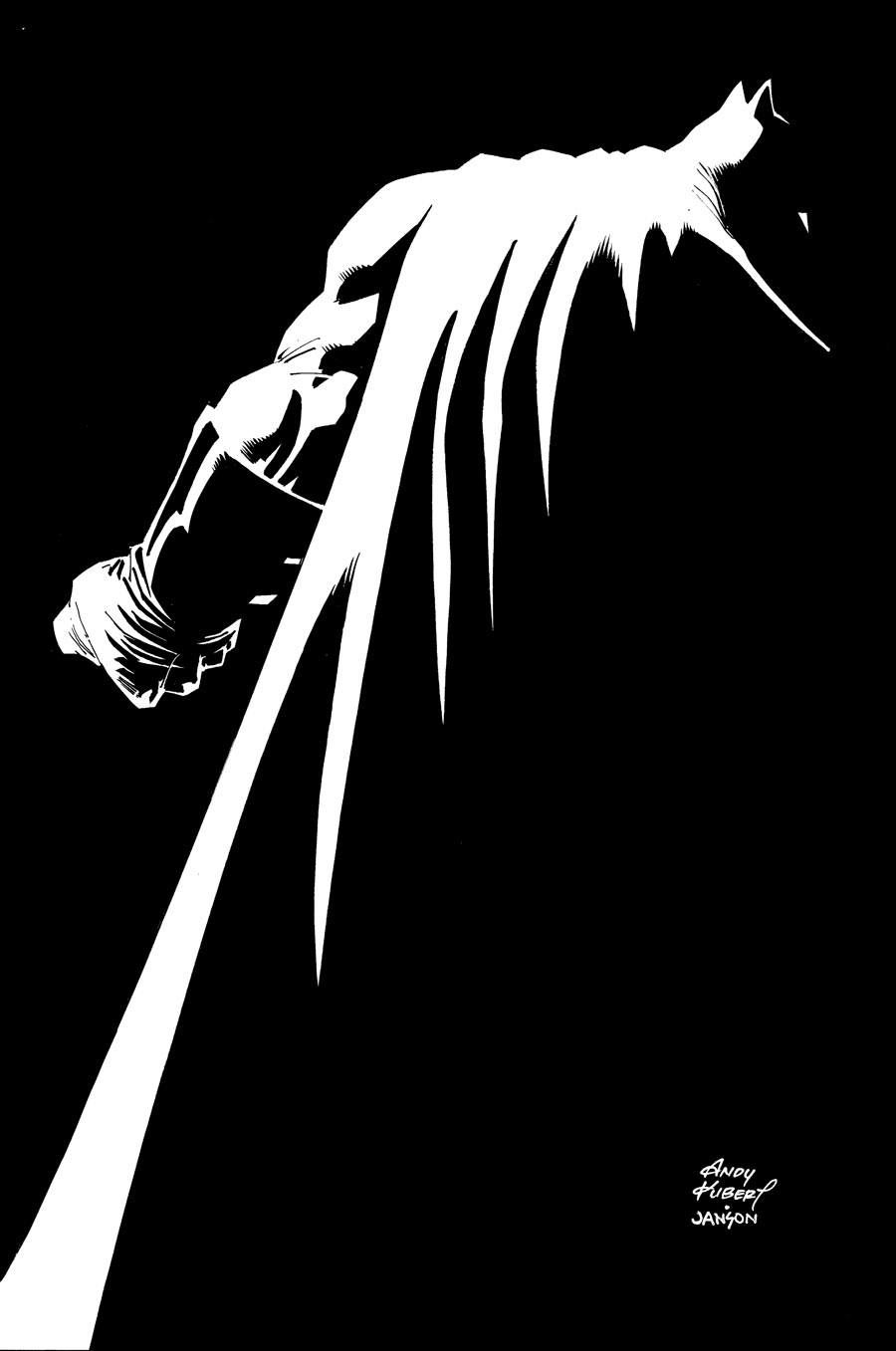 The Dark Knight III: The Master Race by Andy Kubert, ink by Klaus Janson *
