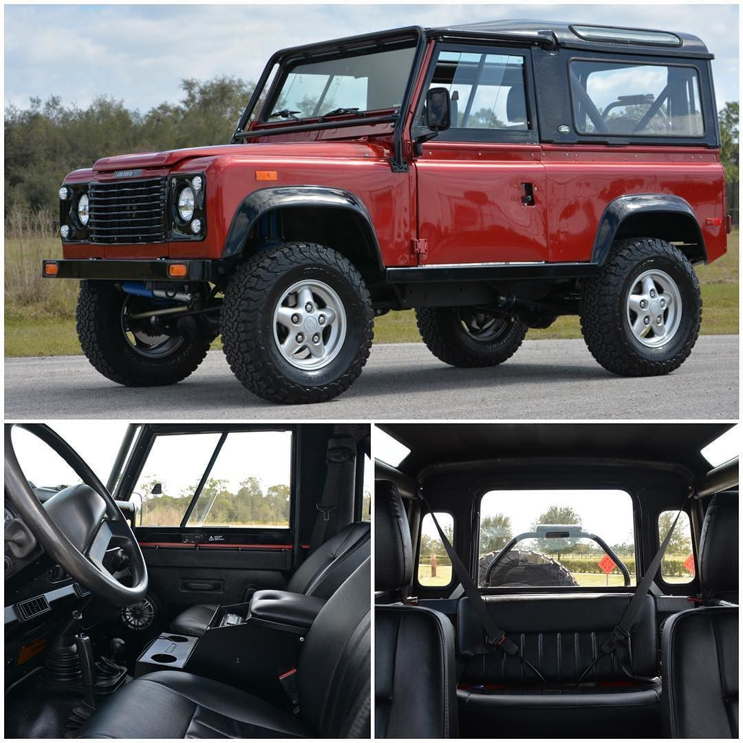 East Coast Defender On Instagram Project Infrared Built In 8 Weeks Is An All Round Classic Nas D90 With Manual Fibreglass Roof Manual Transmission Defender