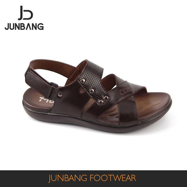 4a34b472cb9b2 Source China wholesale summer fashion mens leather sandals man walking sandal  fashionable walking sandal on m.alibaba.com
