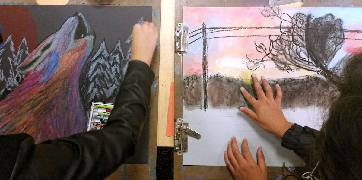 How To Build Skills Without Sacrificing Student Choice The Art Of Education University Color Theory Art Art Classroom Art Classroom Management
