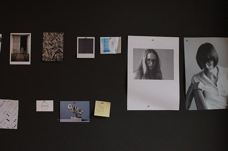 OWL Optics Moodboard. Berliner Accessoire Labels bei der Arbeit.
