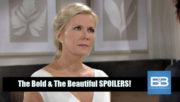 """""""The Bold and the Beautiful"""" spoilers for Thursday, October 27, tease that Brooke (Katherine Kelly Lang) will rip into Ridge (Thorsten Kaye) for threatening her nuptials. After Ridge begs Brooke to pursue a future with him, she'll gripe about both the request and the timing. Brooke will think it's r"""