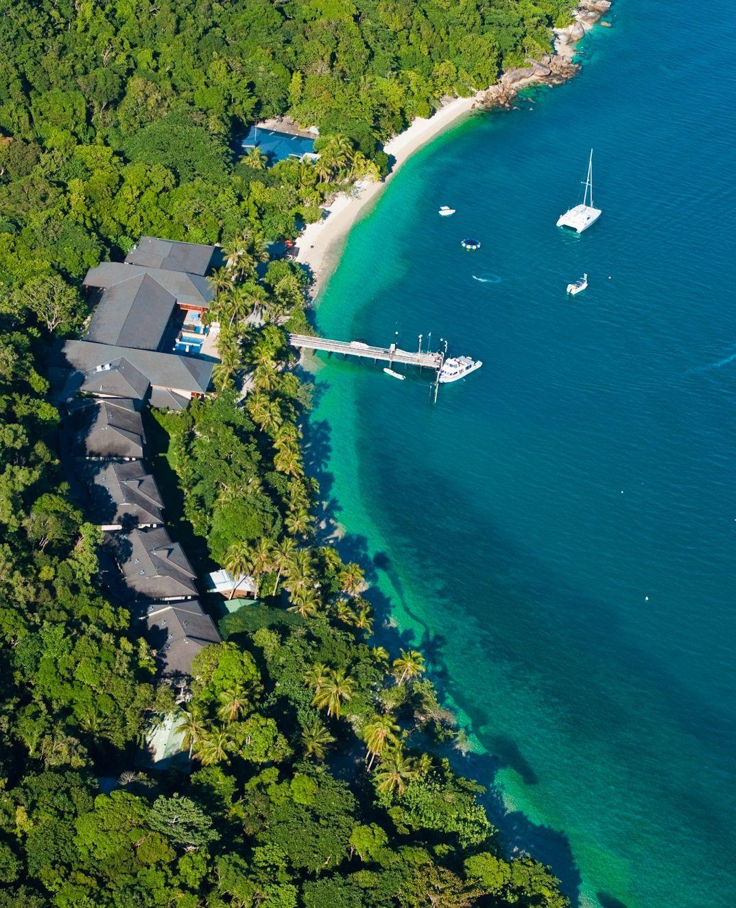 Fitzroy Island Queensland: Aerial Of Fitzroy Island! #fitzroyisland #greatbarriereef