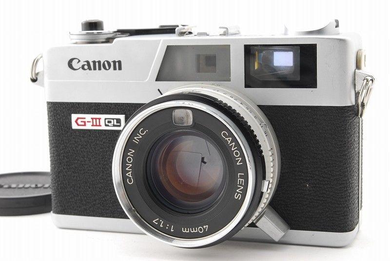 EXC++】Canon Canonet QL17 GIII...