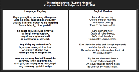 Filipino American Experiences: Music | Philippine National