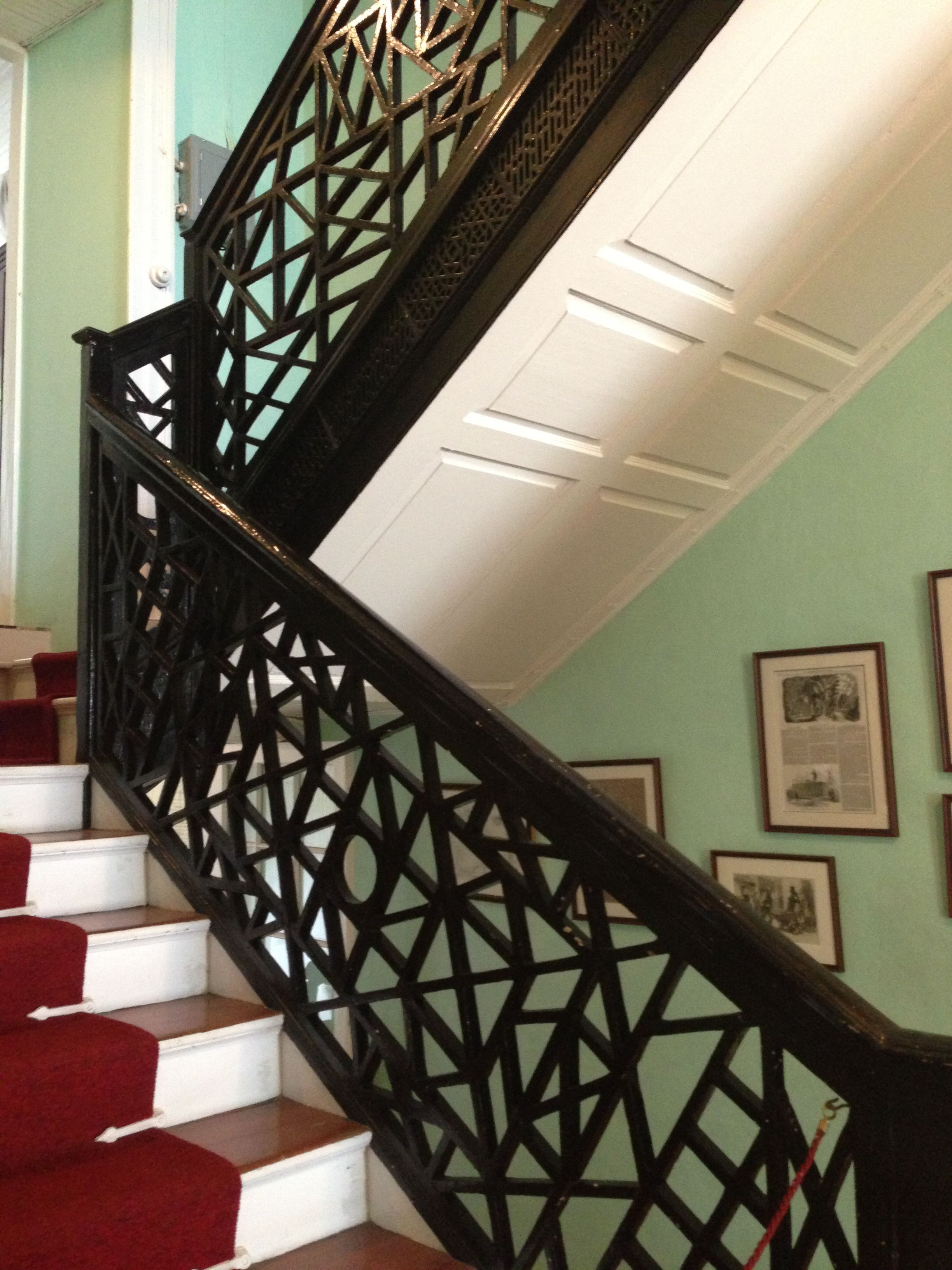 Best Chinese Chippendale Staircase Railing Circa Late 1800 S At 400 x 300