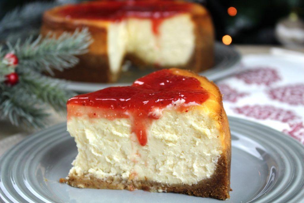 New York Cheesecake O Tarta De Queso Americana Sin Lactosa