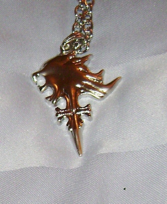 Final fantasy viii 8 squall griever pendant 24 necklace cosplay final fantasy viii 8 squall griever pendant 24 necklace cosplay sleeping lion aloadofball Image collections