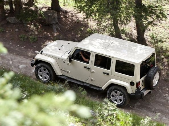 Pearl White Sahara Jeep Wrangler Unlimited Jeep Wrangler