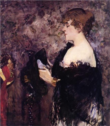 The Milliner - Edouard Manet
