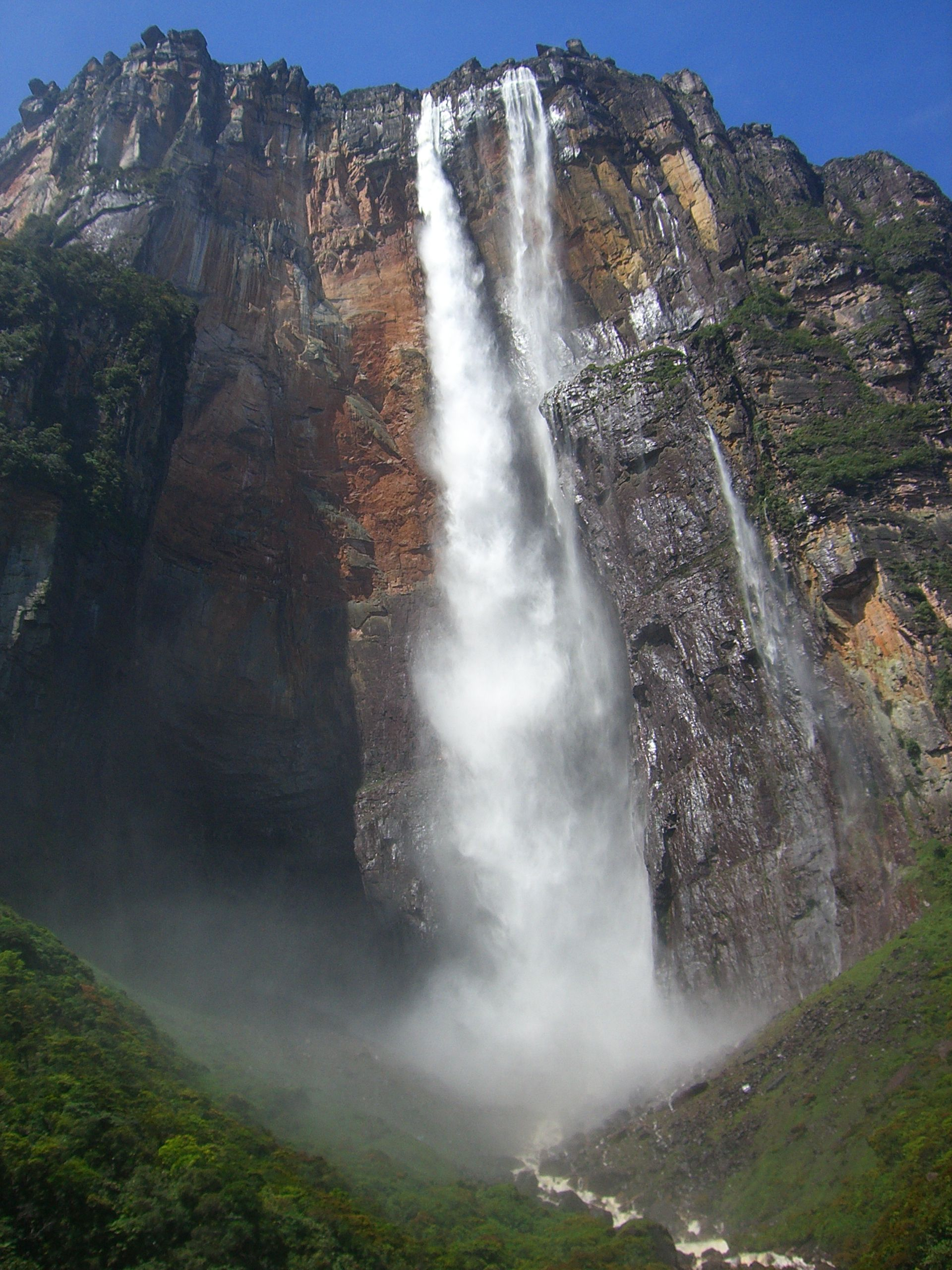 Where is Angel Falls: on which mainland 92