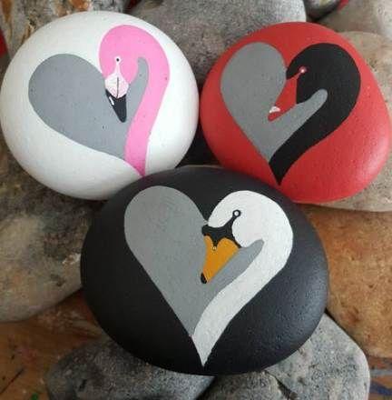 36+ Trendy garden rock art ideas painted pebbles