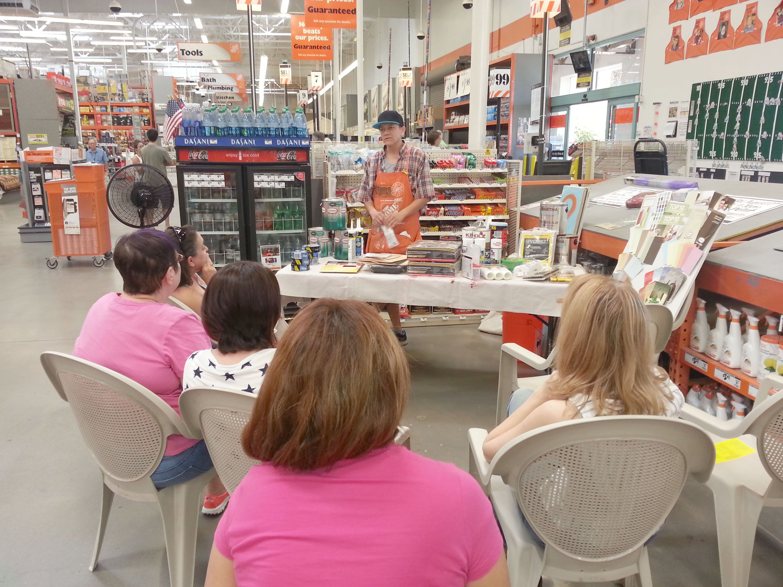 Interior Paint Workshop At The Indian Bend Home Depot 0457