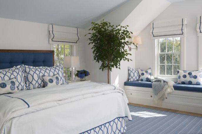 beach themed master bedrooms | Nantucket Beach Nest master bedroom2 ...