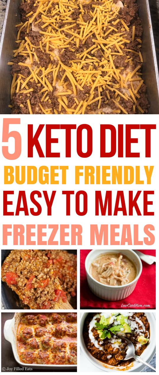 These KETO recipes are THE BEST for my weight loss journey. I'm so glad I found these keto freezer meals that will help me lose weight and stick to my budget. #keto #ketodinners #frugal #mealprep #freezermeals #meals